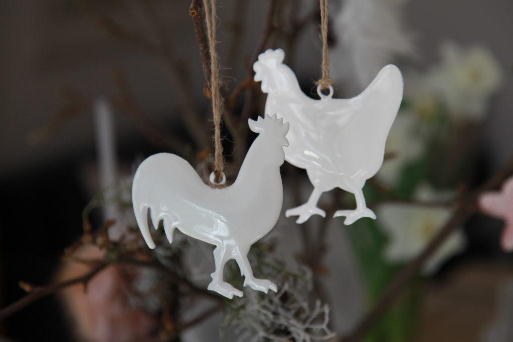 Osteranhänger Hühner