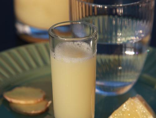 Ingwer und Zitrone