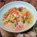 Minestrone: italienische Gemüsesuppe