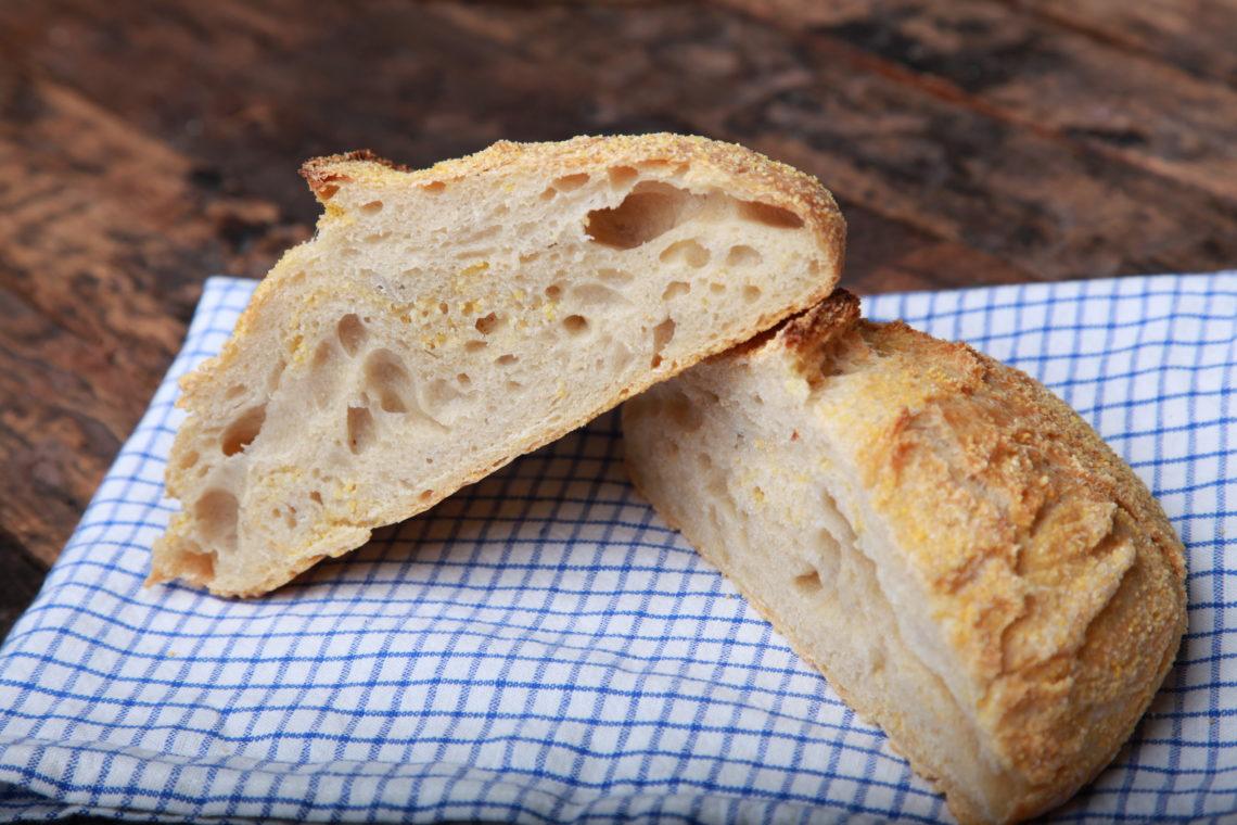 no knead bread - knetfreies Brot